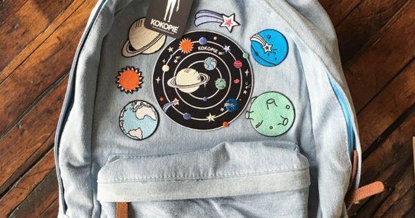 Mochila de espacio extraterrestre de los años 90 grunge del dril de algodón | Bags, Pandora jewelry and Pandora
