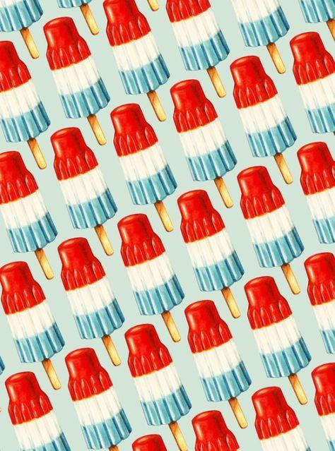 Pattern design - Bomp Pop Pattern By Kelly Gilleran