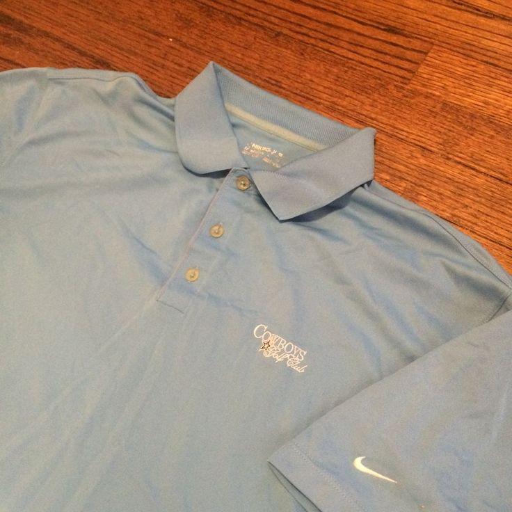 087396d59 ... Tee Sold -- Dallas Cowboys GC Nike Dri-Fit Light Blue Golf Polo Shirt  ...
