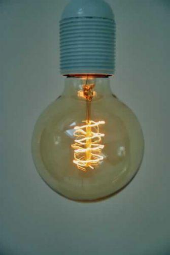 retro light bulb for you
