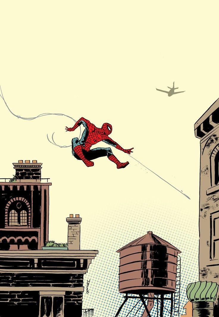 """shadowfallsks: """" Spider-Man by Declan Shalvey """""""