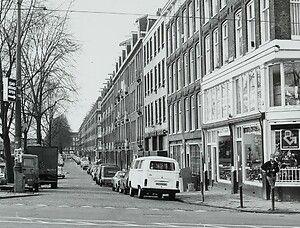 Amsterdam wittenkade staatslieden buurt.