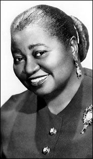 Hattie McDaniel -- The first black actor awarded an Oscar.  Gone with the wind, The Great Lie  -- Despite being awarded an Oscar, she endured racism all the way into death: Her wish to be buried in Hollywood at her death in 1952 was denied because of her skin color.