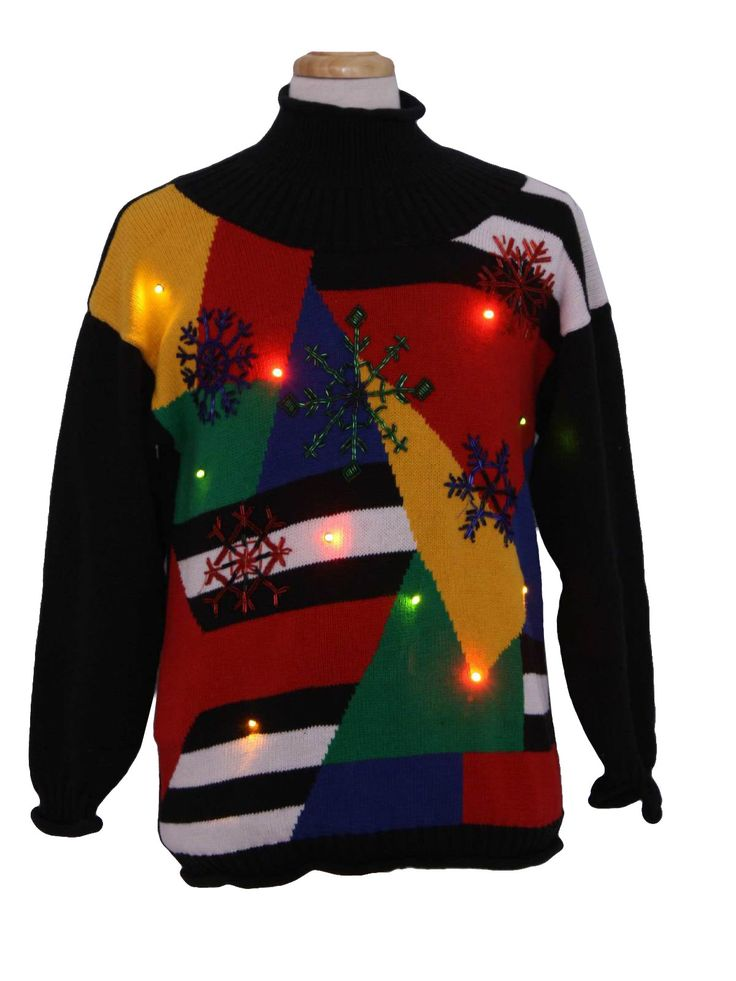 Ugly Light Up Christmas Sweaters