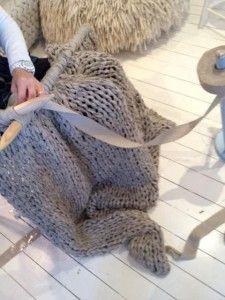 Giant Knitting (Крупная вязка)   Кому Идею?