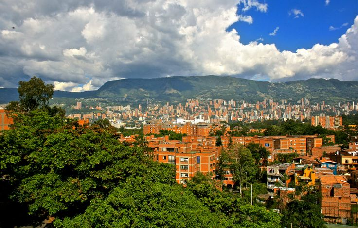 Uncover Colombia - View of Medellin