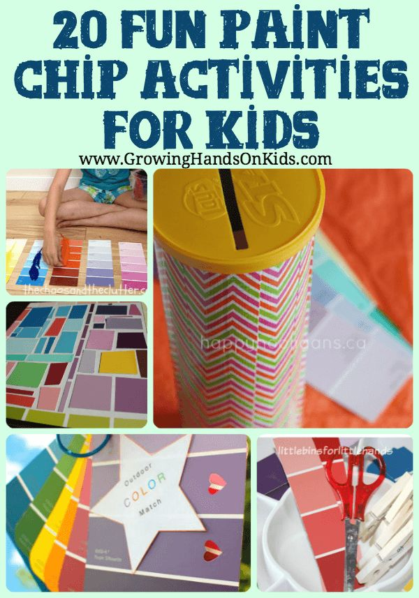 Fun paint child activities for children that are great for learning and fine…
