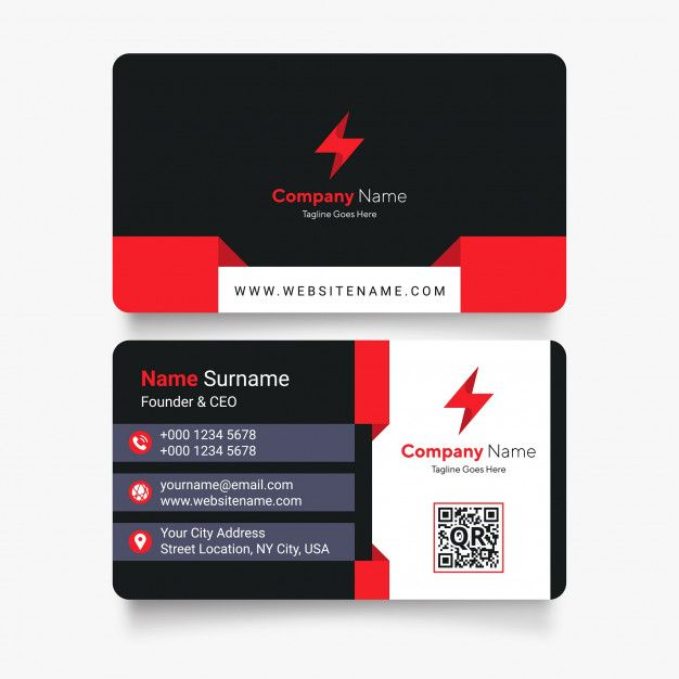 Freepik Graphic Resources For Everyone Business Cards Vector Templates Vector Business Card Modern Business Cards Design
