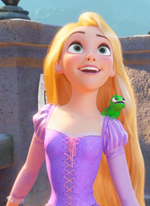 I love how Pascal is always mimicking what Rapunzel does it reminds me soo much of my parrot. She is seriously my best friend.