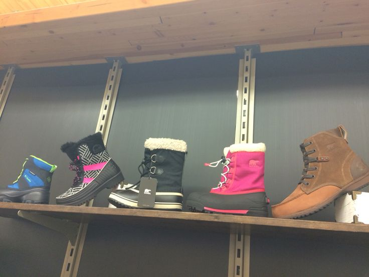 Sorel and Columbia at United Cycle