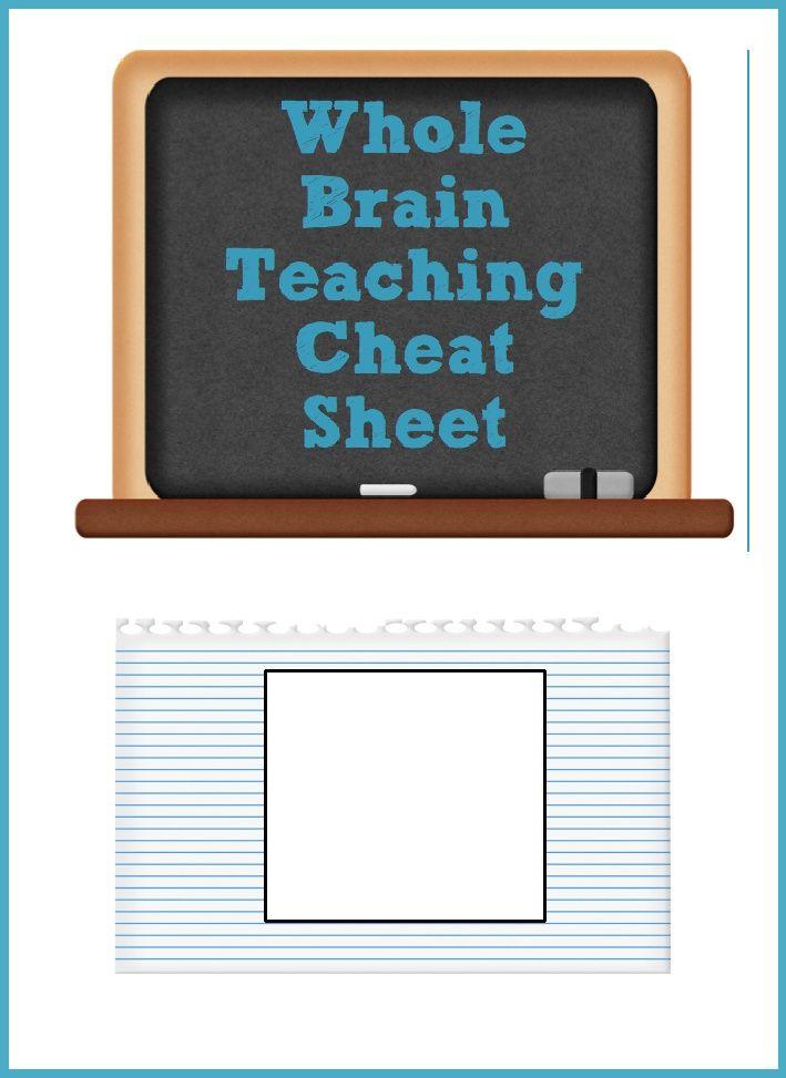 Whole brain cheat sheet scribd tfa in da bayyyyy pinterest
