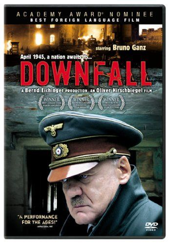 Directed by Oliver Hirschbiegel. With Bruno Ganz, Alexandra Maria Lara, Ulrich Matthes, Juliane Köhler. Traudl Junge, the final secretary for Adolf Hitler, tells of the Nazi dictator's final days in his Berlin bunker at the end of WWII.