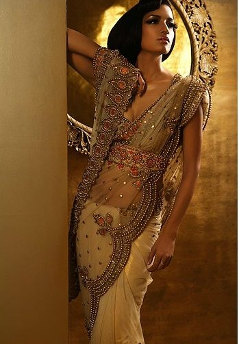 "Beautiful #Saree By Arjun & Anjalee Kapoor.    ""Princess"""