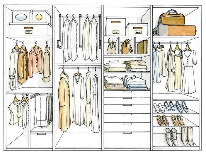 Closet Designs That Will Fitted For Clothes