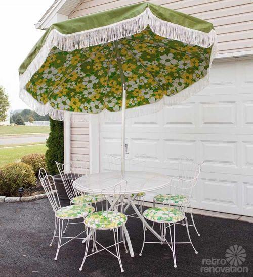 16-piece vintage Homecrest patio set -- all original, magically delicious - Retro Renovation
