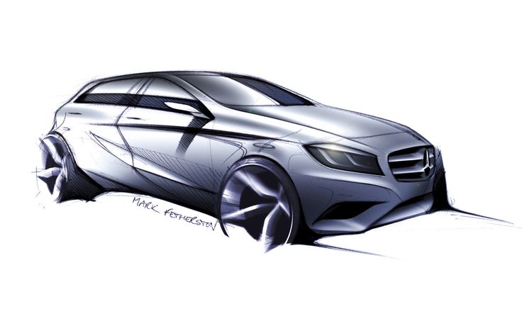 Mercedes-Benz A-Class - Design Sketch