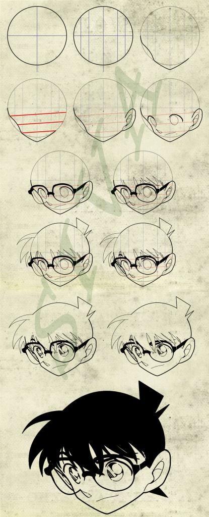Drawing Conan