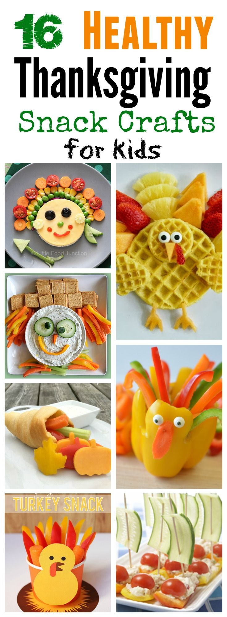 Healthy Thanksgiving Snack Ideas for Kids! #Healthy #Thanksgiving