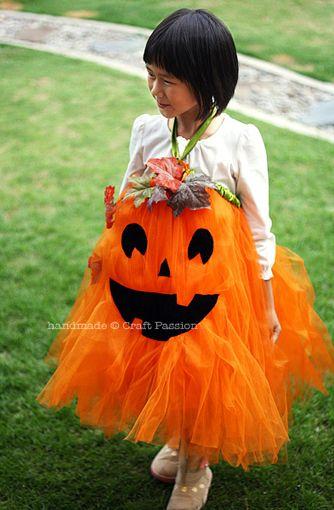 костюмы на Хэллоуин для девочек своими руками