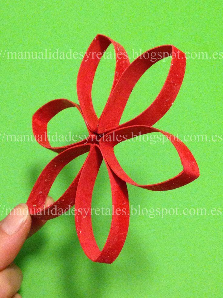 Aprende a hacer esta manualidad diy paso a paso sigueme - Hacer centros de navidad ...