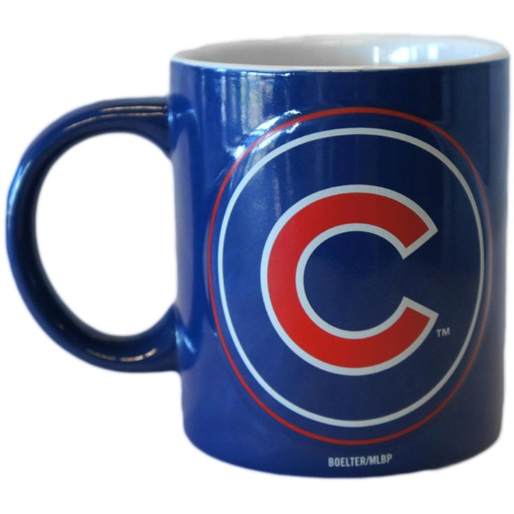 Chicago Cubs Warm Up Coffee Mug by Boelter Brands at SportsWorldChicago.com  #ChicagoCubs #Cubs #MLB #FlyTheW