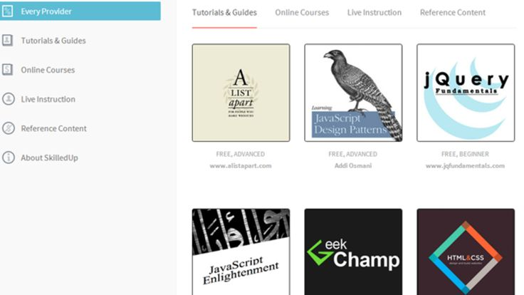 50 of the Best Online Courses and Resources for Learning Web Design - recc by a list apart 1-14
