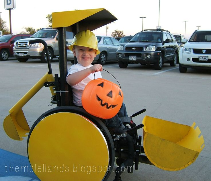 Wheelchair and walker costumes - kits and a DIY blog