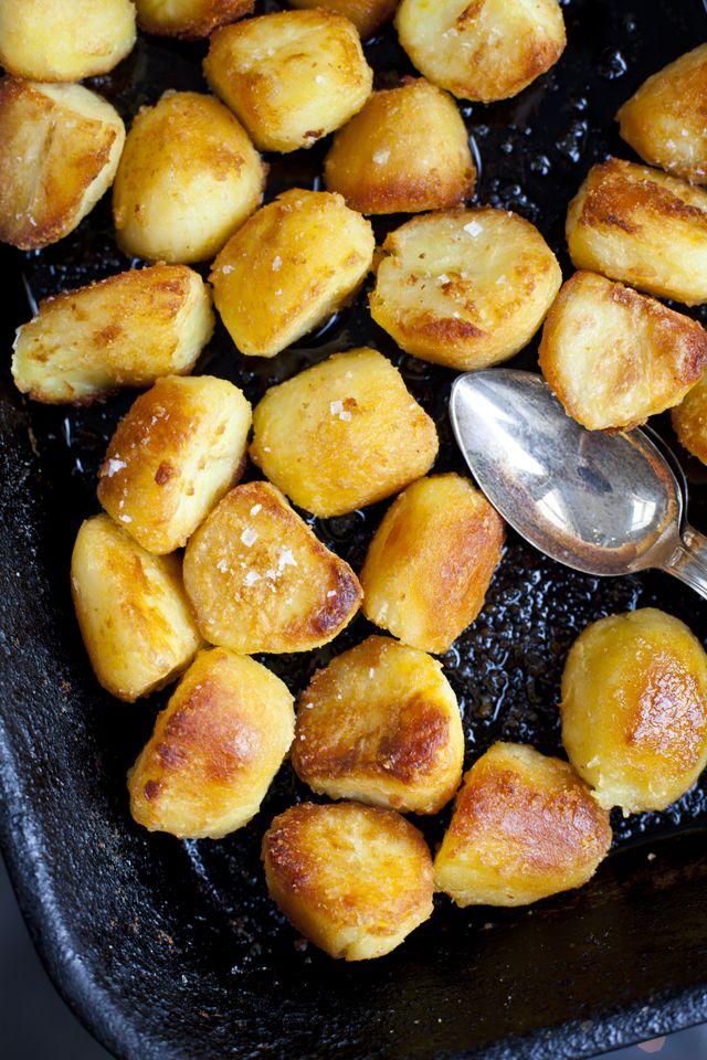 Fluffy and Crispy Goose Fat Potatoes | DonalSkehan.com