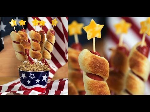 How to Make Firecracker Hot Dogs for 4th of July | Eat the Trend - YouTube
