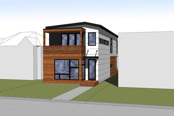 Hive modular b line medium prefab in calgary modern for Modern prefab homes mn