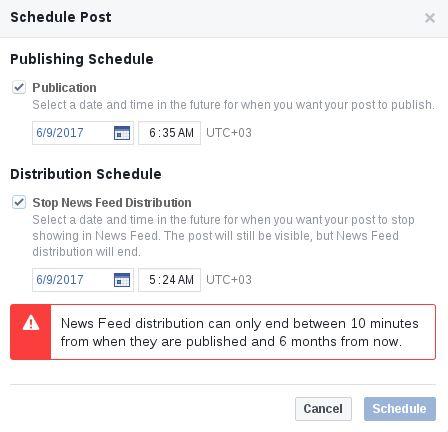 Voit nyt paitsi ajastaa Facebook-päivityksiä myös päättää siitä milloin jotain päivitystä ei enää työnnetä ihmisten fiideihin. Sehän on aika kätevä juttu ohimeneville jutuille: esim. tämä tarjous on voimassa vain seuraavat 2 tuntia tänään lounaalla tarjolla sitä ja tätä.