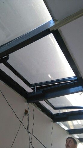 Skylights electrical opening