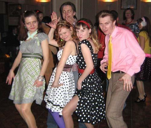 Костюмы на вечеринку стиляги