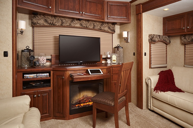 Lifestyle Luxury RV (37RESL Floorplan) | They thought of adding a ...