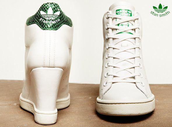 6f2ef307b0 Adidas-Stan-Smith-UP-Baskets-Talon-Femme-3 | things i wish i had | Adidas  stan, Stan Smith, Adidas stan smith