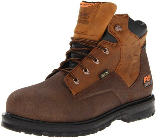 Timberland PRO Men's 89650 Work Boot -  	     	              	Price: $  160.00             	View Available Sizes & Colors (Prices May Vary)        	Buy It Now      Timberland Boots have been making an impact on hard-working people's feet, and the world, for decades This Men's Timberland Pro Boot features comfort engineered with...