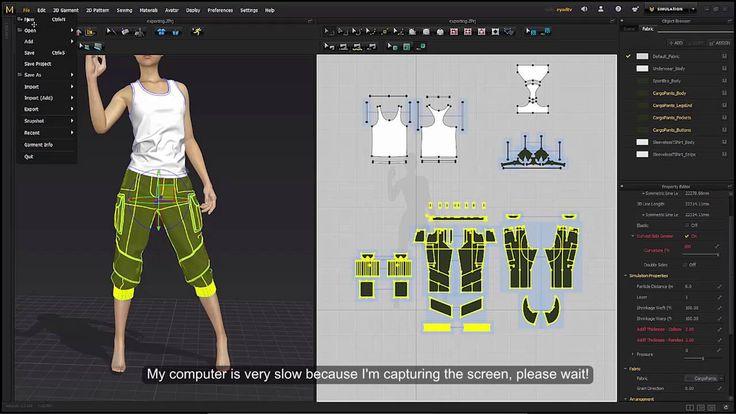 Marvelous Designer tutorial, CG clothes creation, Part 11