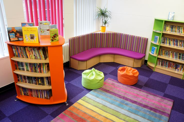 A School Library created by Incube Ltd for Woodstock Primary School