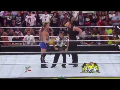 WWE Summerslam 2013: Dean Ambrose vs Rob Van Dam for the US Championship