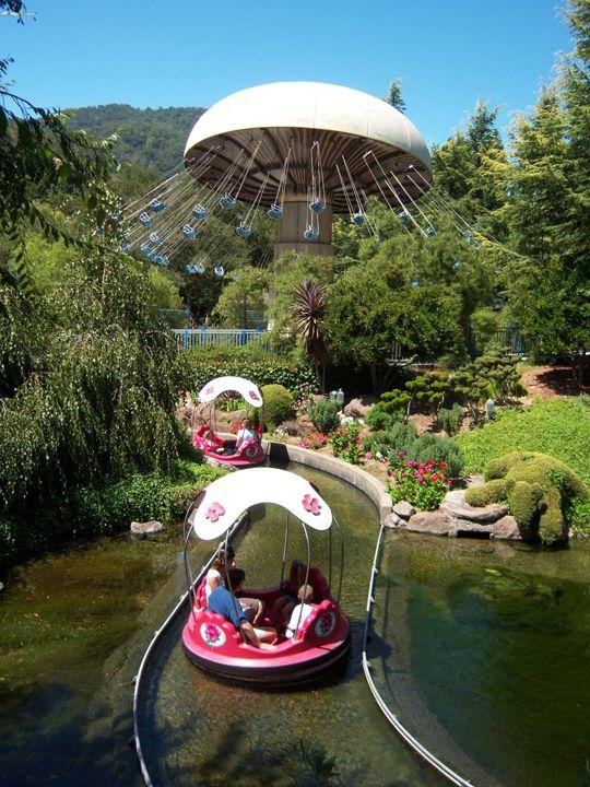 Gilroy Gardens family park, Gilroy, Santa Clara, California