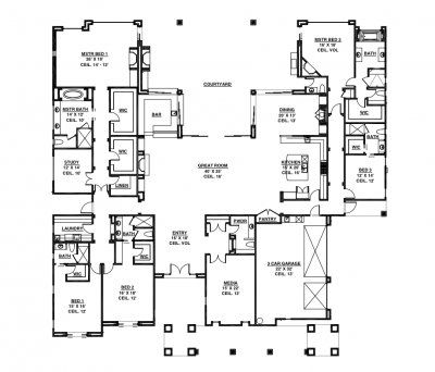 50 best images about id e plan house on pinterest for Malibu house plans