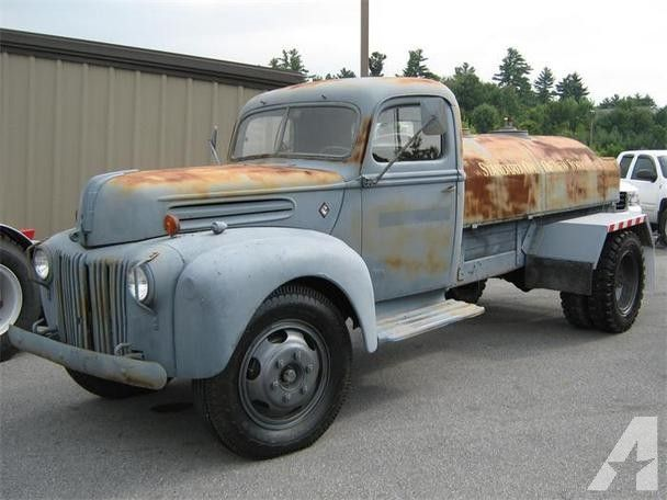 1943 Ford Truck, in Grey Primer. Former Naval Vehicle ...