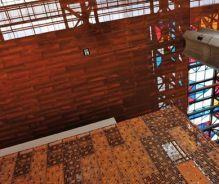 Cielo Plank - Centro Cultural Gabriela Mistral_Plank Hook-on