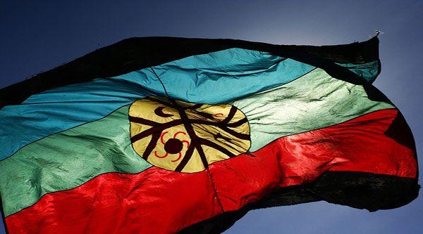 En marzo de 1991, la organización mapuche Aukin Wallmapu Ngulam o Consejo de Todas las Tierras realizó un llamado para confeccionar la bandera de la nación mapuche. Cerca de 500 diseños fueron presentados, de los cuales se seleccionó uno. La bandera de la nación mapuche fue creada el 5 de octubre de 1992 y se la conoce como Wenufoye ('Canelo del cielo'). La autoridad nacional reconoció este pabellón tras la dictación de la «Ley Indígena» en 1993.