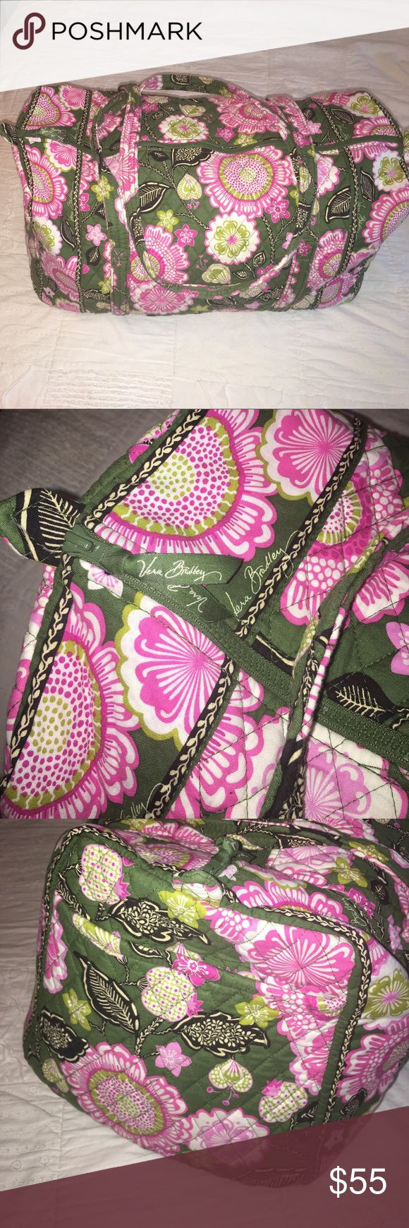 Selling this Vera Bradley Large Duffel Bag on Poshmark! My username is: sallyburke13. #shopmycloset #poshmark #fashion #shopping #style #forsale #Vera Bradley #Handbags