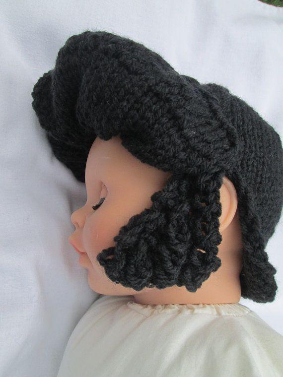 Baby Elvis novelty hat knit baby hat baby hats by Ritaknitsall, $30.00
