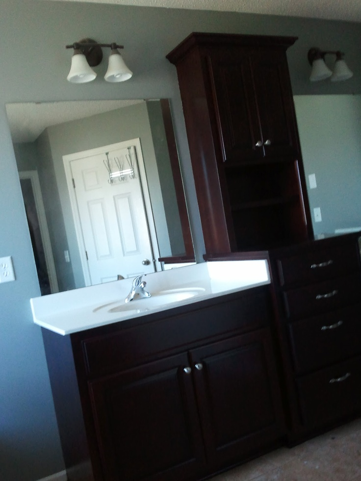 The Painter S Wife Bathroom Vanity Makeover Bathroom