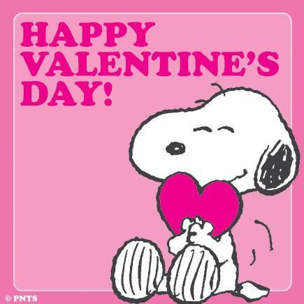 Happy Valentineu0027s Day By Snoopy!