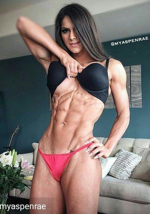 female fitness model porn gif