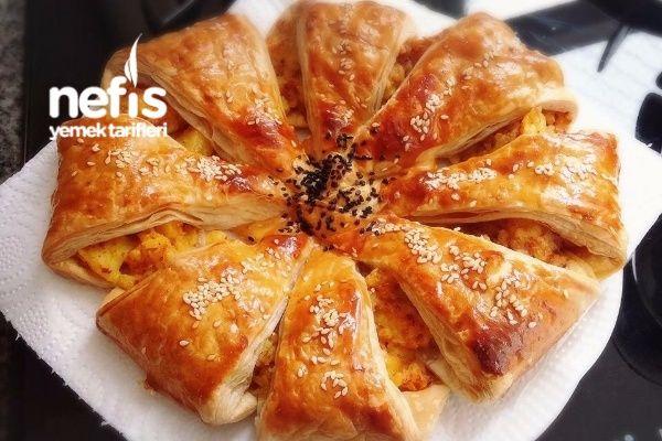 Güneş Milföy Böreği Tarifi nasıl yapılır? 104 kişinin defterindeki bu tarifin resimli anlatımı ve deneyenlerin fotoğrafları burada. Yazar: Filiz Avcı Durukal(Hanımeli Mutfağı)